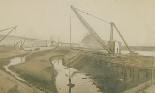 Swansea Drydocks October 31st 1922